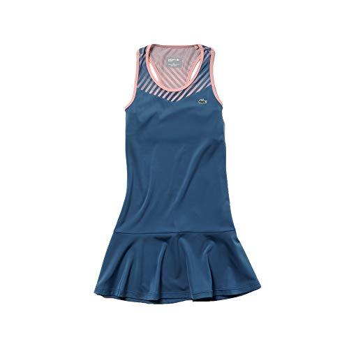 Lacoste Women's Technical Jersey Tennis Tank Dress, NEOTTIA/Bagatelle Pink, 6