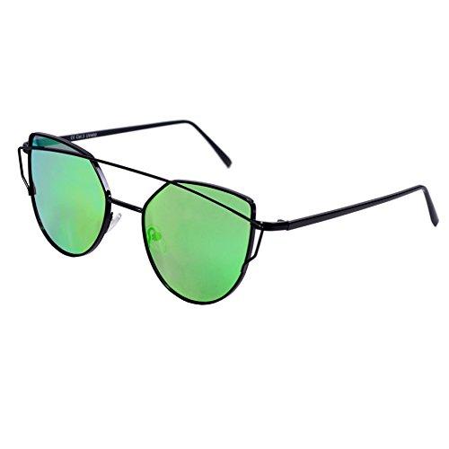 Dice lunettes de soleil pour femme - Vert - vert xZsHDbnkqE