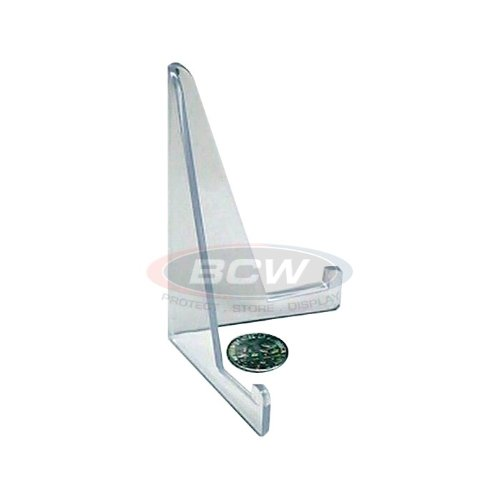 BCW Multi-Product Rigid Display Stand, Clear Acrylic x 10 pack