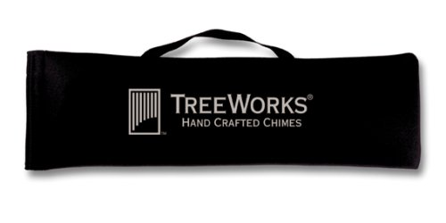 Chime Case - TreeWorks Chimes TREXL Extra Large Soft-Sided Gig Bag and Transport Case for Wind Chimes or Bar Chimes up to 32
