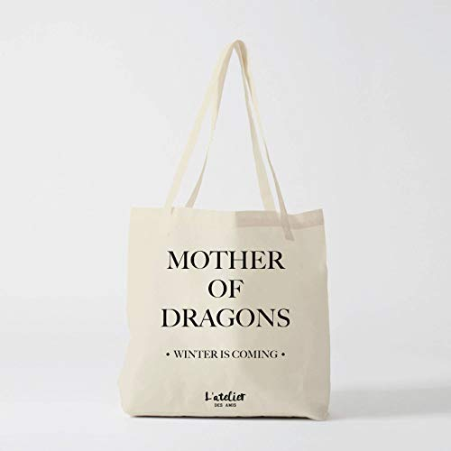 Dragons Dragon Of Game Girl The Thrones Borsa With Khaleesi Cotone Tote Mother PXHqw1x
