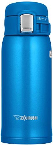 ZOJIRUSHI Termo Bebidas, Acero Inoxidable, Azul Mate, 6 5x7x17 5 cm