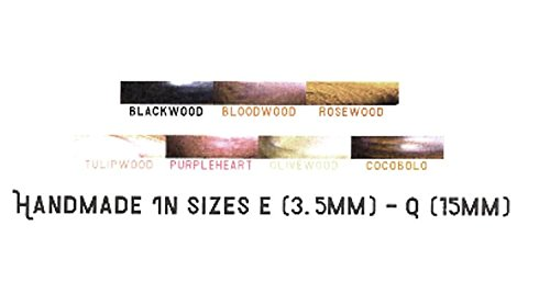 FURLS Alpha Series Crochet Hook (Bloodwood - 6.00 mm (J))