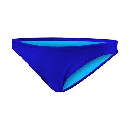 TYR Women's Solid Micro Bikini Bottom,Royal ()