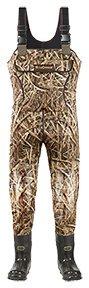 Super Brush Tuff 1200g Waders Mossy Oak Shadow Grass Size 9