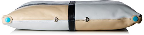 GABS - G3 Tg L - Patchwork Escudo, Borsa Donna Multicolore (Gemelli)