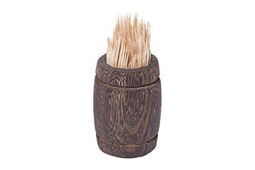 Review Wooden Barrel, Wine barrel decor, Wooden kitchen canisters, Wood barrel centerpiece, Wood utensil holder, Decorative wood jar & Wedding decorations. Small whiskey barrel, Toothpick holder.