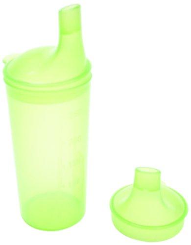 Vaso con pajita integrada color verde Ability Superstore