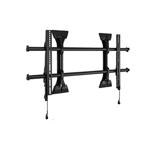 Chief LSM1U-G Large FUSION Micro-Adjustable Fixed Wall Display Mount - Mounting kit for LCD display - black - screen size: 37 inch - 63 inch - wall-mountable