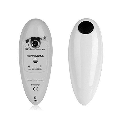 instecho 1 Electric Restaurant Can Opener, Smooth Edge Automatic Chef's Best Choice, (White) by instecho (Image #3)
