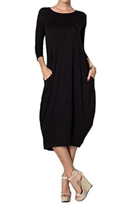 Pastel by Vivienne Women's Cocoon Midi Dress