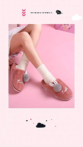 Plataforma Antideslizantes Bolsa Media Zapatillas Rojo Otoño Gruesas Invierno El Algodón E Shoes De Para Bonita Vino Femenina Interior Con Interiores Caseras RxOwq0PxY