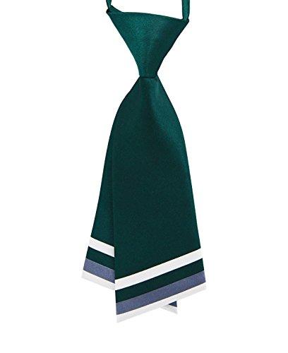 GZZOU Woman Tie, Ladies Fashion Solid Color Pre-Tie School Style Silk Necktie