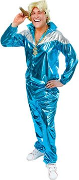 90s shell suit fancy dress - 1