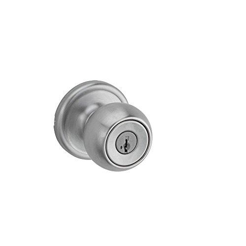 Circa Entry Knob featuring SmartKey in Satin Chrome
