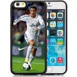 Price comparison product image iPhone 6 Case,Soccer Player Cristiano Ronaldo 30 Black iPhone 6S 4.7 Inches Cover Case,Fashion TPU Case