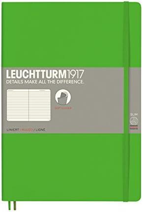 LEUCHTTURM1917 349301 Notizbuch Composition (B5), Softcover, 123 nummerierte Seiten, dotted, Marine