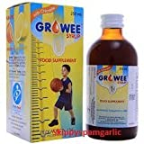 Growee Syrup Multivitamins (Growee with Chlorella Growth Factor) 120ML PACK OF 2