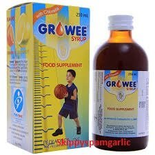 Growee Syrup Multivitamins (Growee with Chlorella Growth Factor) 120ML PACK OF 2 (Best Multivitamins For Teenager In The Philippines)