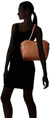 MICHAEL Michael Kors Women's Jet Set Travel Saffiano Large Chain Shoulder Tote, Style 35T5GTVT3L