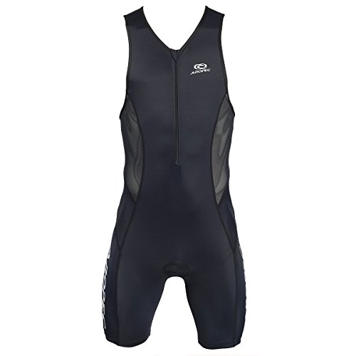 Aropec evolution black Triathlon Einteiler Herren - Trisuit Men, Größe:XL