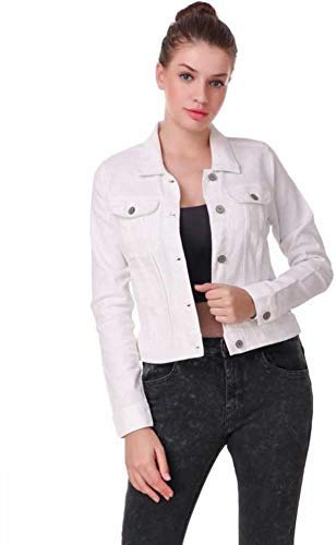 Kicky Full Sleeves Solid Women's Denim Jacket