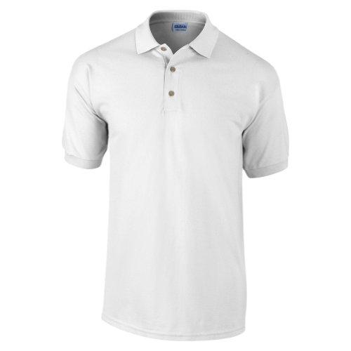 Gildan Men's Welt Collar Preshrunk 3-Button Polo Shirt – DiZiSports Store