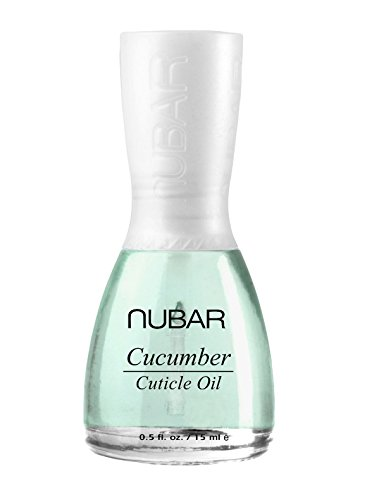 Nubar Cucumber Cuticle Oil with Jojoba and Mulberry Soothes and Softens Cuticles 15ml NU-T303
