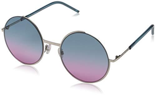 (Marc Jacobs 34/S Sunglasses Palladium / Pink / Aqua Pink)