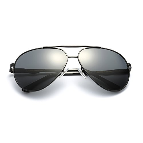 Classic Sports Polarized Sunglasses Lightweight TAC Lens Alloy Frame Eyewear 100% UV Protection for Men - Face For Shape Your Frames Best Glasses