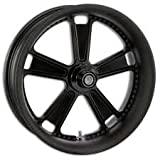 Image of RSD Judge Black Ops 18x3.5 Rear Wheel , Color: Black, Position: Rear, Rim Size: 18 12527806RJUDSMB