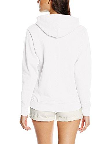 the Loom Capuche White Femme Blanc of Sweat Shirt Fruit wpqSv71n