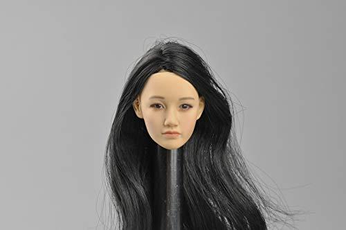 FidgetFidget 1/6 Female Head Sculpt Painted for 12'' Action Figure Body Toys from FidgetFidget