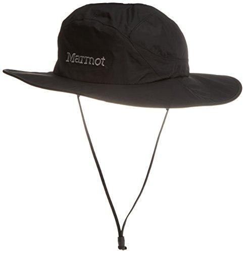 Marmot Unisex PreCip Safari Hat Black 1 SM/MD