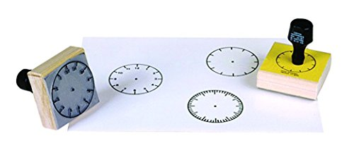 Center Enterprise CE099 3 Clock Set Stamps (Pack of 3)