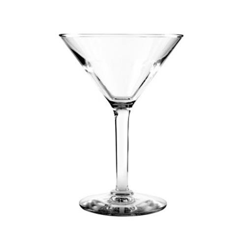 Anchor Hocking H037491 4-1/8 Inch Diameter x 5-3/4 Inch Height, 6-Ounce Ashbury Martini Glass (Case of 36)