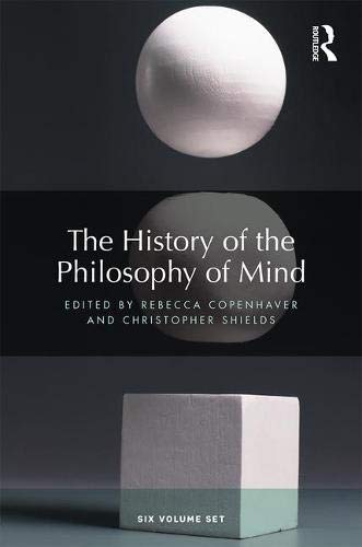 The History of the Philosophy of Mind: Six volume set