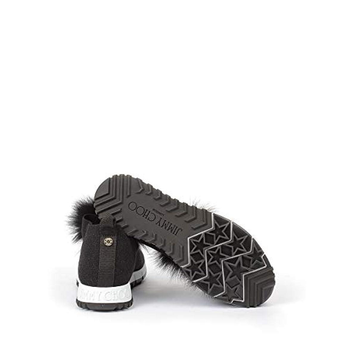 Jimmy Choo Slip On Sneakers Donna Norwaykioblack Pelle Nero