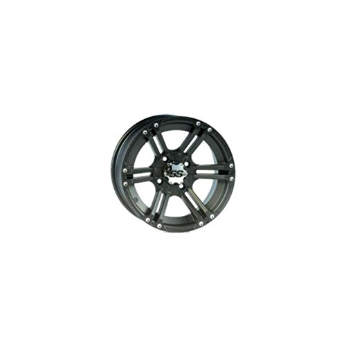 4/110 ITP SS212 Alloy Series Wheel 12x7 2.0 + 5.0 Matte Black ARCTIC CAT BOMBARDIER CAN-AM CANNONDALE HONDA JOHN DEERE KASEA KAWASAKI SUZUKI YAMAHA