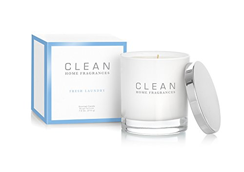 CLEAN Home Fragrances Candle, Fresh Laundry, 7.5 - Fresh Laundry