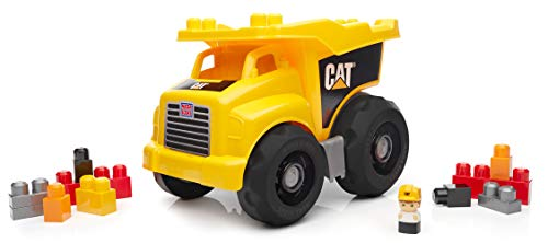 31oiNX%2B8ulL - Mega Bloks Caterpillar Large Dump Truck