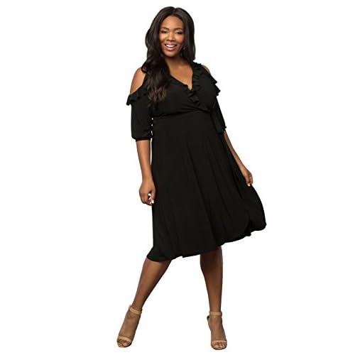 079ca136443 cheap Kiyonna Women s Plus Size Barcelona Wrap Dress ...