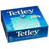 Tetley Select Natural Decaffeinated Tea, Dual Flow Bag, 100-Count Envelopes (Pack of 5)