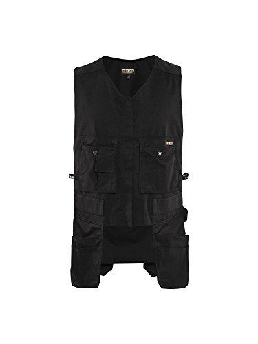 Blaklader Black Size Small Roughneck Kangaroo Vest for Carpentry Construction by Blaklader