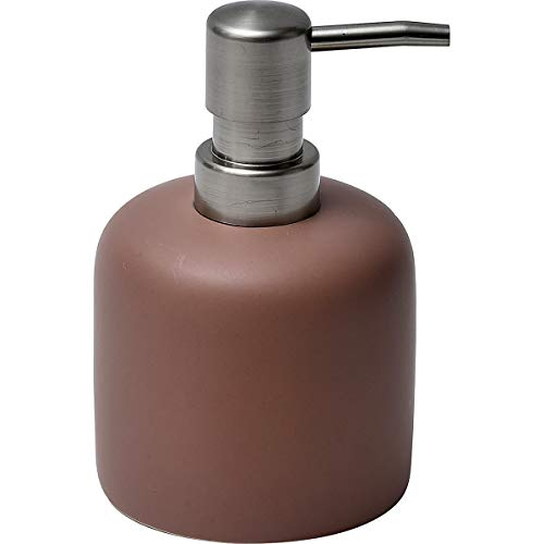 EVIDECO 6289153 Nordic Collection Bath Soap Dispenser, 3.3 L x 5.1 H, Blush (Water Dispenser Stoneware)