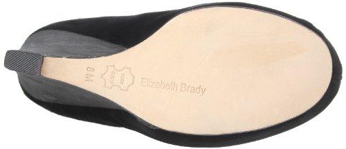 Elizabeth Brady Femmes Madison Boot Noir Daim