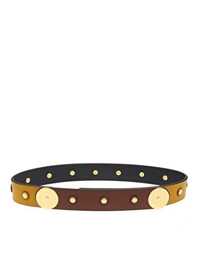 Marni Women's Cnmo0026q1p2319z2b43 Yellow Leather Belt