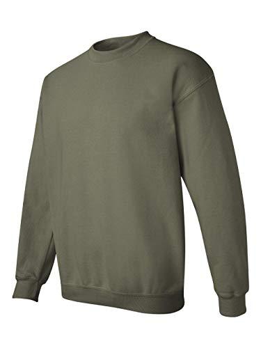 - Gildan Men's Heavy Blend Crewneck Sweatshirt - XXX-Large - Military Green