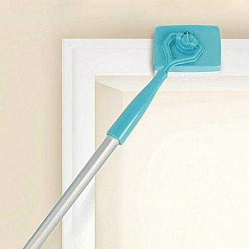 Suppyfly Adjustable Conforming Baseboard Cleaner Tool Long Handle Dust Brush for Home