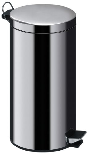 Premier Housewares Stainless Steel Bin With Plastic Inner Bin by Premier Housewares